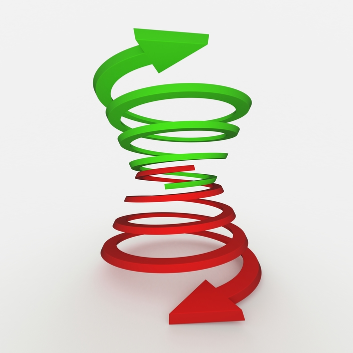 Image result for downward spiral
