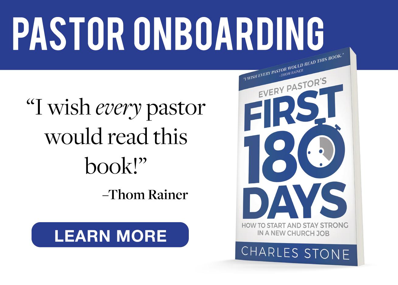 Successful Onboarding for Pastors